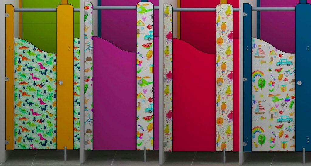 toilet cubicles for schools