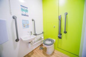 disabled toilet installation uk