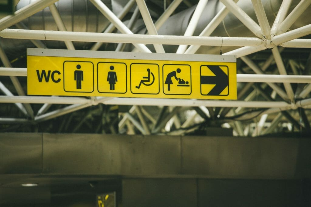 disabled toilet uk